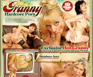 Granny Hardcore Porn - The hottest granny sluts that you'll ever see on the net!