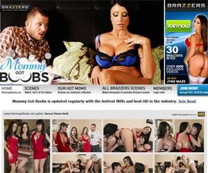 Big Tit Milf Pornstars In Hardcore Mom Porn - Mommy Got Boobs
