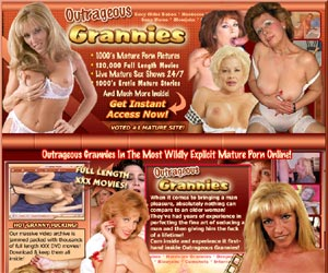 Outrageous Grannies In The Most Wildy Explicit Mature Porn online!